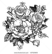 Small Picture Rose Tattoo Stock Images Royalty Free Images Vectors Shutterstock