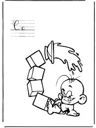 Letter C Kleurplaat Alfabet