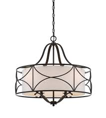designers fountain 88684 orb avara 4 light 24 inch oil rubbed bronze chandelier ceiling light