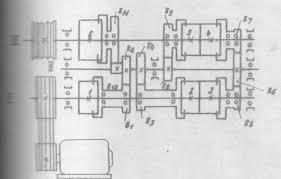 ГОУВПО Воронежский государственный технический университет  Установленная на станке АКС имеем 6 электромагнитных муфт включение которых в определённой последовательности позволяет получать 9 ступеней скорости и
