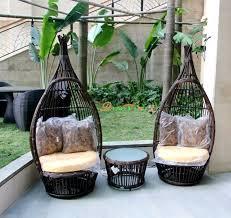 Nest Rattan Chairs Coffee Table Threepiece Outdoor Furniture Three Piece Outdoor Furniture