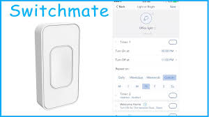 Simply Smart Light Switch Switchmate Installation Set Up Review