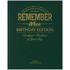 personalised birthday newspaper