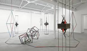 Eva Rothschild, What the Eye Wants, exhibition view, Modern Art, 25 April