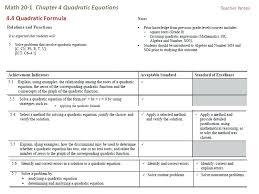 quadratic formula answer math math 1 chapter 4 quadratic equations solving quadratic equation math is fun