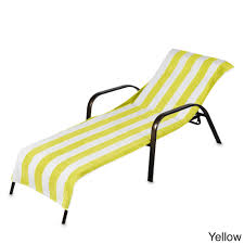 captivating chaise lounge towel for beach towel style terry stripe chaise lounge cover 28 x 78
