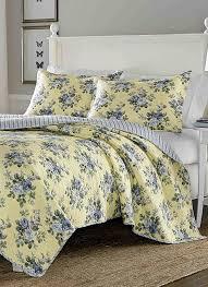 laura ashley linley quilt set