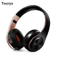<b>Tourya</b> B7 Wireless Headphones <b>Bluetooth</b> Headset Foldable ...