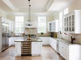 Small Picture Plain Country White Kitchen Ideas Match With Decorating