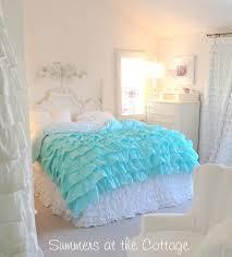 aqua and white bedding. Contemporary And Aqua White Ruffles Duvet With And Bedding A