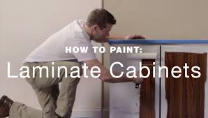 Painting Laminate Cabinets How To Paint Laminate Kitchen Cabinets Youtube