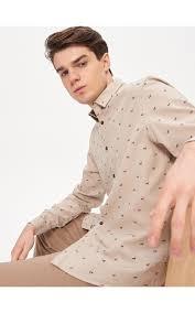 <b>Рубашка с принтом</b> all over, HOUSE, YC115-08X
