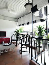 asian modern furniture. Outdoor, Balcony, Bamboo Blinds, KDK Fan, Antique Chinese Furniture Asian Modern