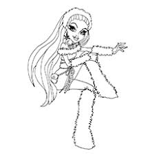 Small Picture Top 27 Monster High Coloring Pages For Your Little Ones