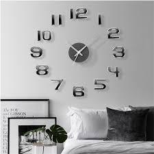 2021 diy new 3d digital watch wall