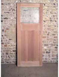 593 1930s glazed 1 over 3 panel internal door with moulding 593 1930s glazed 1 over 3 panel internal door with moulding