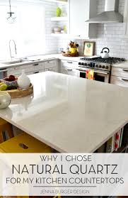 Quartz Kitchen Countertop Kitchen Renovation Choosing A Quartz Countertop Jenna Burger