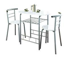 breakfast bar table 2 chairs stools set dining room kitchen pact