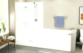 how to replace tub with shower replacing tub with shower soaking tub shower combination ideas bathtub