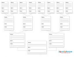Printable Family Tree Planner Download Them Or Print