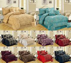 New 7Pc (Piece) Comforter Set Quilted Bedspread Double & King Size ... & Image is loading New-7Pc-Piece-Comforter-Set-Quilted-Bedspread-Double- Adamdwight.com
