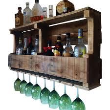 Buy a Handmade Extra Wide Grand Traverse Rustic Wine Rack Liquor