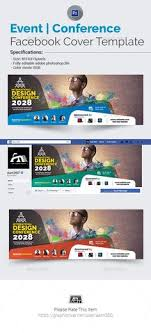 event conference facebook cover template facebook cover templatefacebook timeline