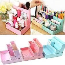 paper board storage box desk decor diy stationery makeup cosmetic organizer 664238236343 ebay