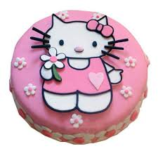 Hello Kitty Birthday Cake 2kg Pineapple Gift Hello Kitty Birthday Cake