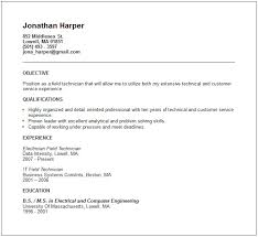 Resume Objective For Job Fair Generic Resume Template Stibera