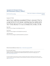 social a social me a content ysis of beauty panies use of facebook in marketing and branding