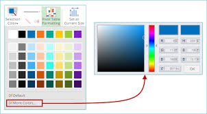 Specifying The Color Of Series Or Series Items In A Chart