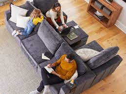 lovesac create your own sectional couch