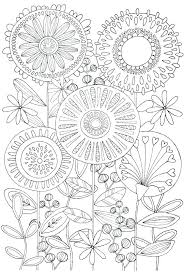 Complex Coloring Pages Nature