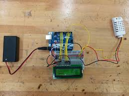 arduino greenhouse control humidity and temperature