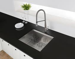 ruvati 23 workstation ledge bar prep kitchen sink undermount 16 gauge stainless steel single bowl rvh8308
