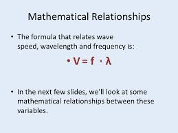what is wavelength and frequency. frequency and wavelength when wave speed is constant; 7. what