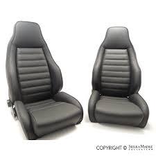 porsche parts turbo seat set 911 74