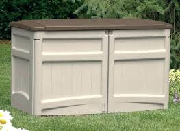 outdoor storage containers outdoor storage for trash cans trash can storage