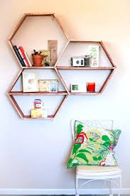 diy office shelves office decorating ideas home office decor ideas honeycomb shelves do it yourself diy