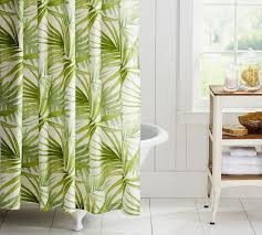 palm tree china pattern for palm leaves cotton shower curtain china