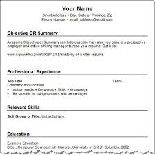Resume Example For Jobs. Example Resume For Job Resume Samples The ...