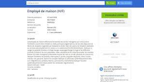 employé de maison au rectorat de rennes l offre d emploi fait réagir sur internet