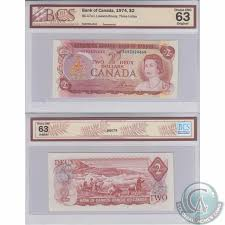 1974 2 Bc 47a I Bank Of Canada Lawson Bouey Three Letter Agb