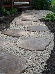Small Picture Landscaping I did DIY Use edging to contain small river rocks