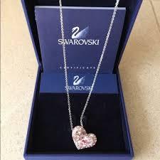 swarovski alana heart pendant