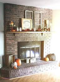 exterior brick wall decoration ideas fireplace decorating wedding decor painted firepl