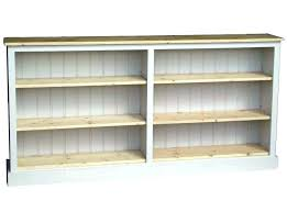 architecture long low bookcases modern bookcase wood medium size of pertaining to 18 from long