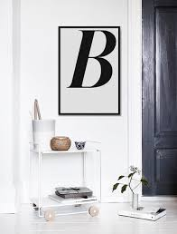 letter b print letters wall art black and by angelinasartshop on wall art letter b with letter b print letters wall art black and white art single