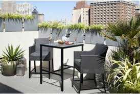 outdoor furniture for small spaces. beautiful spaces nice modern outdoor bistro table 20 finds for affordable and  furniture throughout small spaces